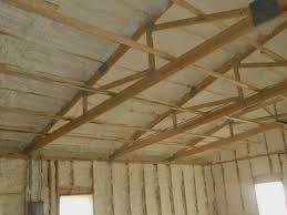 Spray foam insulation for barns and farm houses